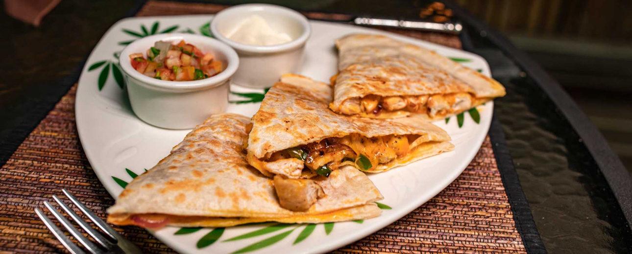 chan-chich-lodge-belize-food-quesadillas
